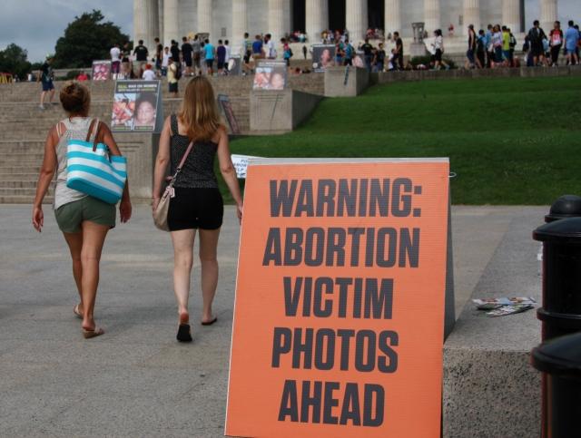 Abortion Images Warning