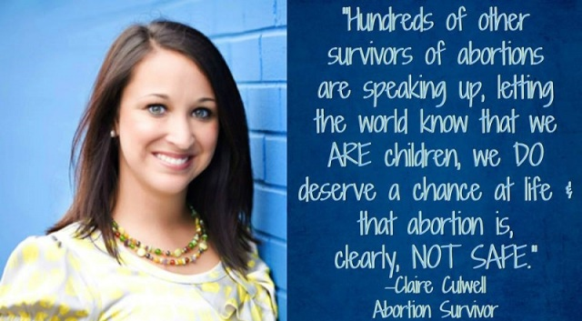 claire culwell abortion survivor