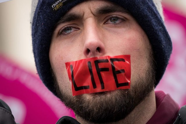 Men Stand for Life