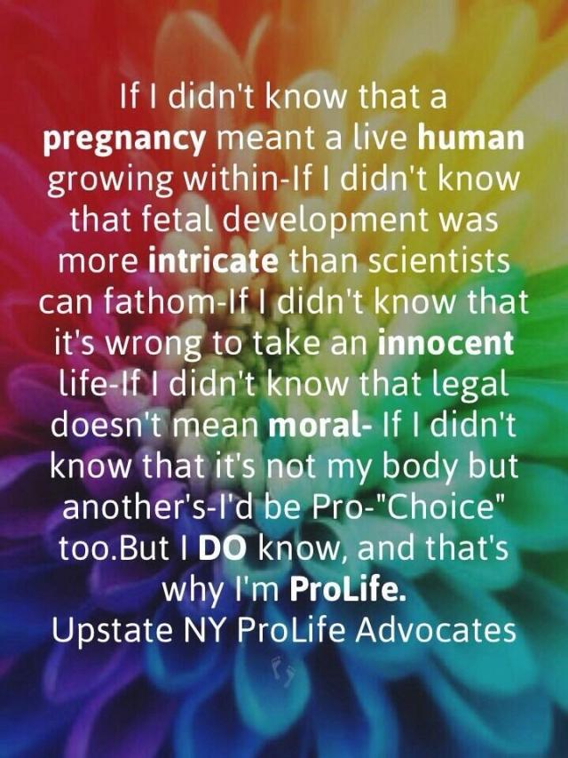 Why I'm Pro-Life