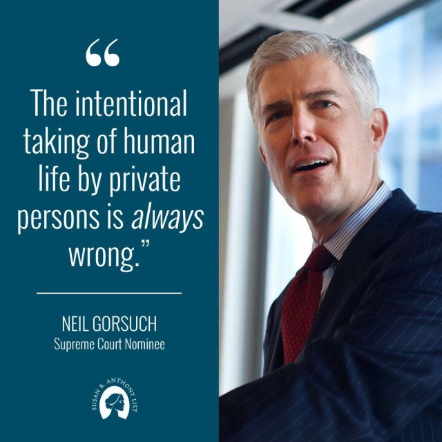 Supreme Court Justice Nominee Neil Gorsuch