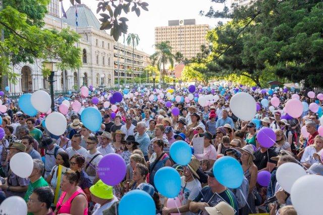 Australia Pro-Life Rally