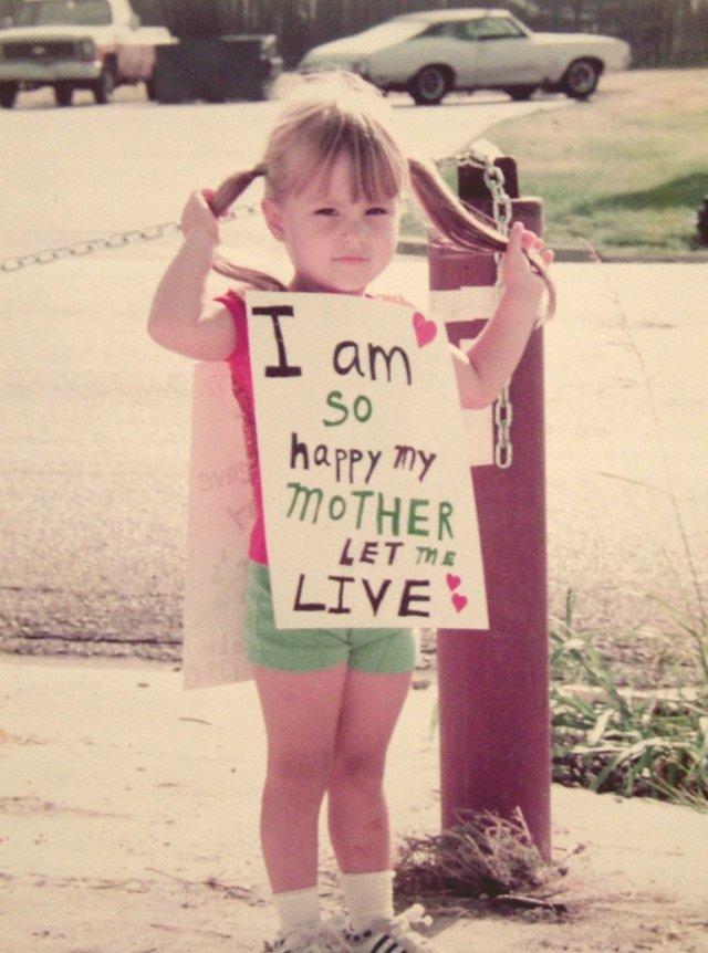 Abortion Protest Let Me Live