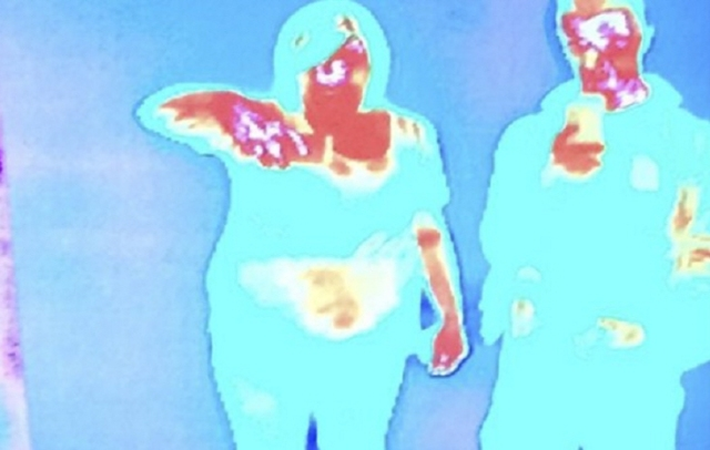 Thermal Image Of Baby