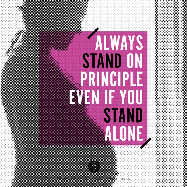 Stand On Principle
