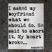 Abortion Testimony